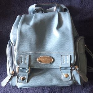 NWT. Rosetti Blue Back Pack w/Wallet